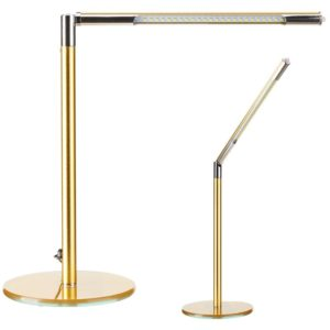 LAMPA LED NA BIURKO ULTRA SLIM GOLD